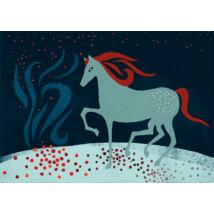 Táltos ló - illusztráció