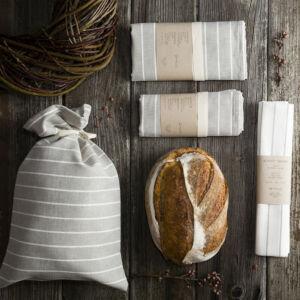 lenvászon kenyeres zsák