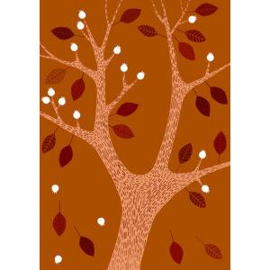 Okker fa keretben
