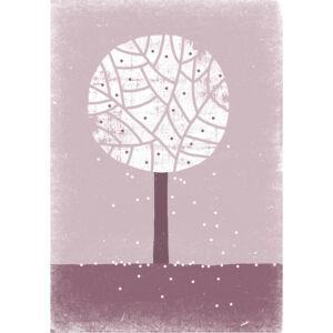 Tavaszi fa keretben