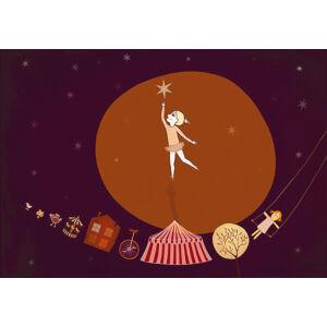 Csillagérintő keretben